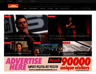 indianweekender.co.nz screenshot