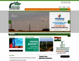 indianwindpower.com screenshot