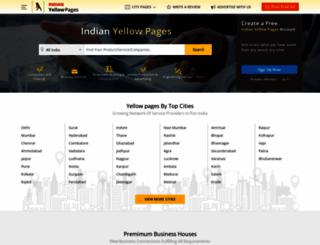 indianyellowpages.com screenshot