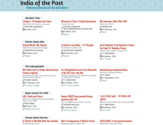 indiaofthepast.org screenshot