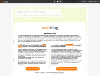 indiarealestate.overblog.com screenshot