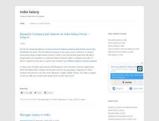 indiasalary.in screenshot