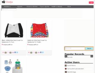 indiashopping.oodja.com screenshot