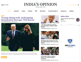 indiasopinion.in screenshot