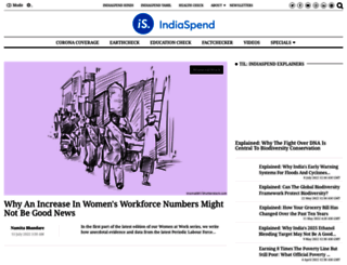 indiaspend.com screenshot