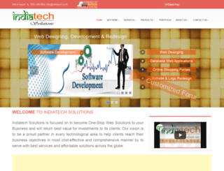 indiatech.co.in screenshot