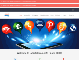 indiatelecom.info screenshot