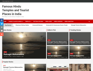 indiatemplesinfo.com screenshot