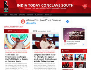 indiatodayconclave.com screenshot
