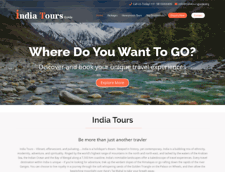 indiatoursguide.org screenshot