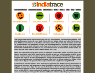indiatrace.com screenshot