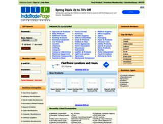 indiatradepage.com screenshot