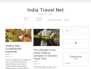 indiatravelnet.com screenshot