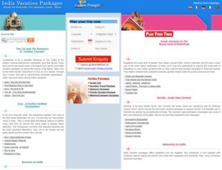 indiavacationpackages.com screenshot