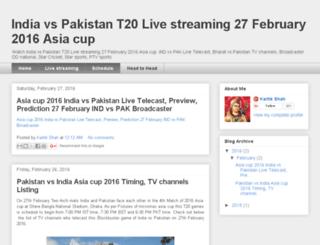 indiavspakistanlivestreaming.net screenshot