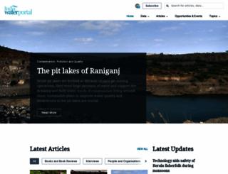 indiawaterportal.org screenshot