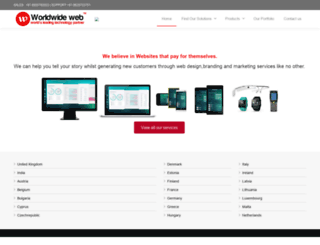 indiawebsitebuilder.com screenshot