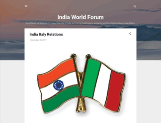 indiaworldforum.blogspot.com screenshot