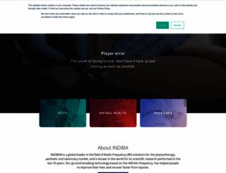 indiba.com screenshot