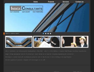 indicaconsultants.com screenshot