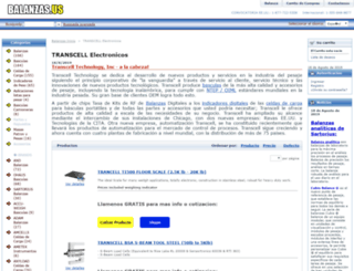 indicador-transcell.balanzas.us screenshot
