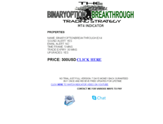 indicator.binaryoptionbreakthrough.com screenshot