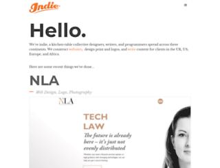 indie.co.za screenshot