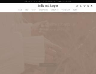 indieandharper.com screenshot