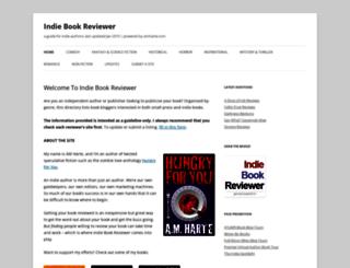 indiebookreviewer.wordpress.com screenshot