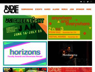 indiecade.com screenshot