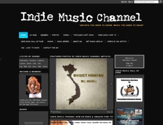 indiemusicchannel.com screenshot