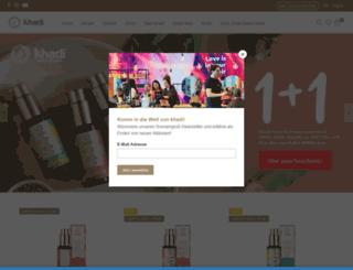 indien-produkte.de screenshot