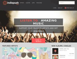 indiepush.com screenshot