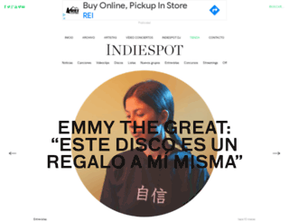 indiespot.es screenshot