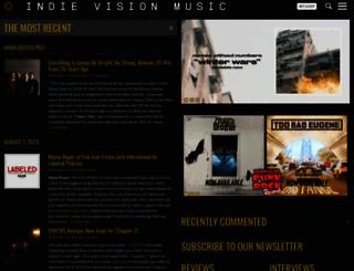 indievisionmusic.com screenshot