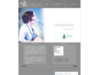 indigoblue.jp screenshot