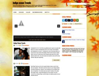 indigooceantravels.blogspot.com screenshot