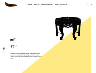 indika-antique.com screenshot