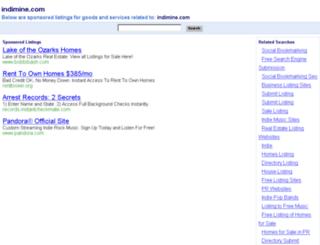 indimine.com screenshot