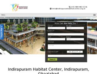 indirapuramhabitatcenter.org.in screenshot