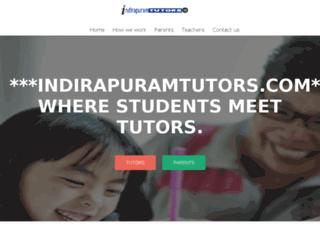 indirapuramtutors.com screenshot