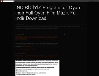 indiriciyiz.blogspot.com screenshot