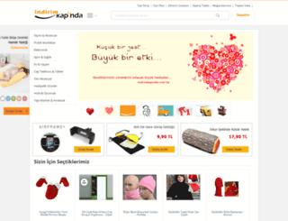 indirimkapinda.com screenshot