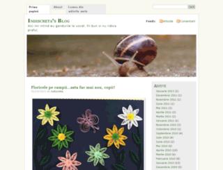 indiscreta.wordpress.com screenshot