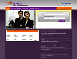 indisearch.com screenshot