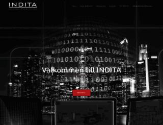indita.se screenshot