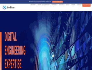 indiumsoft.com screenshot