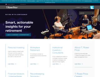 individual.troweprice.com screenshot