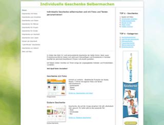 individuelle-geschenke-selbermachen.de screenshot