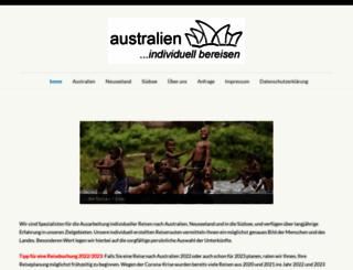 individuelles-australien.de screenshot